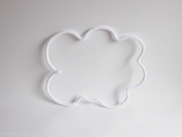 nuage en tricotin