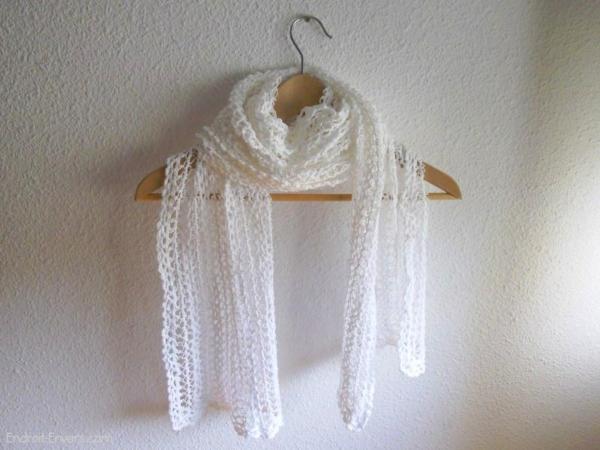 Écharpe fil de coton