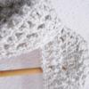Écharpe gris chiné