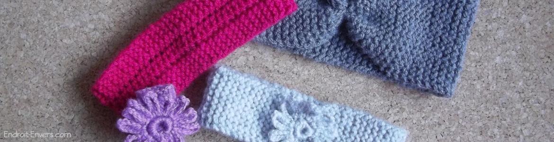 bandeaux en laine
