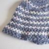 bonnet bebe en laine rayee