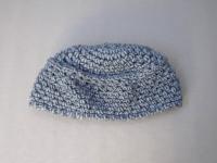 Bonnet bleu chiné