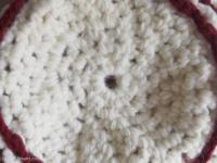 bonnet raye en laine