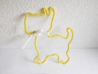chien tricotin