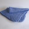 couverture bleu lit bebe