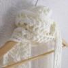 echarpe crochetee