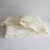 echarpe ecru crochet