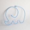 elephant tricotin bleu clair