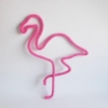 flamant rose tricotin