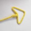 fleche jaune tricotin