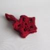 etoile crochet rouge