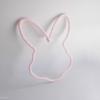 lapin tricotin rose