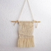 mini macramé sur bambou