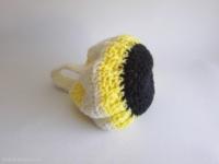 mini sac boule en laine
