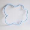 Nuage en tricotin bleu clair