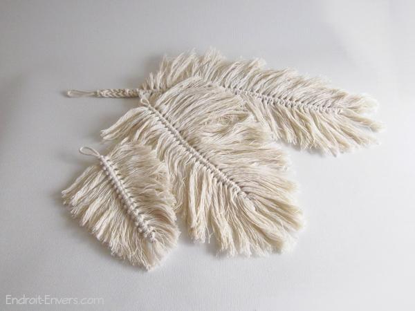 plumes macrame