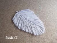 plumes en macrame