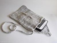pochette en laine pour tablette