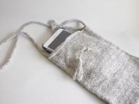 pochette grise pour tablette