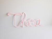 prenom thea