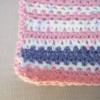Robe bébé rose et bleue