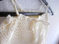 robe crochet écrue bébé