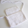 sac crochet blanc