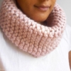 snood grose laine